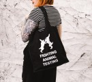 Fighting Animal Testing (tote bag) thumbnail